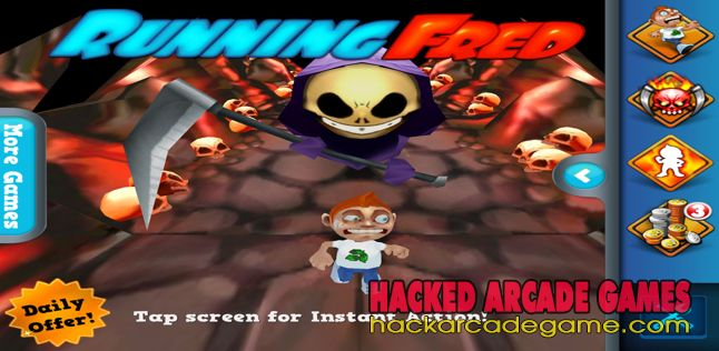 Running Fred Hack 2020 Free Unlimited Skullies